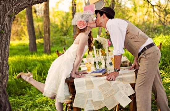 Esküvő vintage stilusban