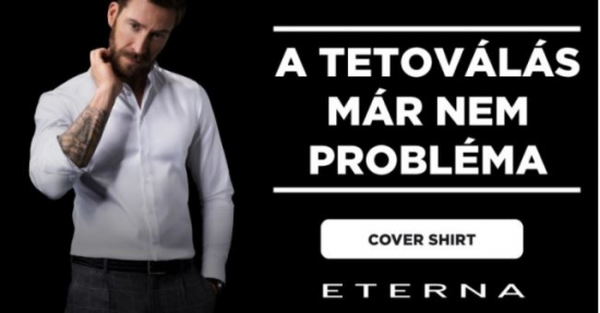 Eterna-Cover shirt -super slim,slim fit fazon