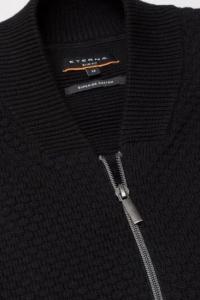 <b>ETERNA</b>, Karcsúsított -slim fit-pulóver, kardigán