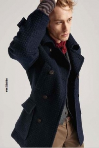 <b>CG-Club of Gents</b>,  CG- Férfi  karcsúsított szövet kabát